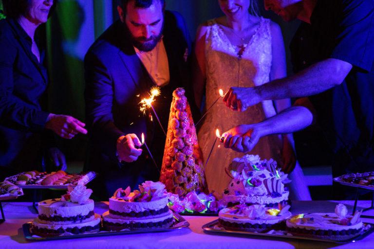 desserts des mariés